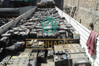 Pb lead drained acid batteries RAINS EISENHARDT Recycling